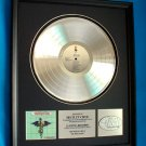 "MOTLEY CRUE PLATINUM RECORD AWARD ""DR. FEELGOOD"""