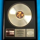 "U2 PLATINUM RECORD AWARD ""JOSHUA TREE"""