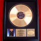 "ELVIS PRESLEY GOLD RECORD AWARD ""MOODY BLUE"""