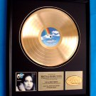 "OLIVIA NEWTON-JOHN GOLD RECORD AWARD ""I'LL BE THERE"""