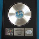 "GEORGE STRAIT PLATINUM RECORD AWARD ""GREATEST HITS"""