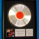 WILLIE NELSON PLATINUM RECORD AWARD