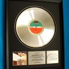 LED ZEPPELIN II PLATINUM RECORD AWARD