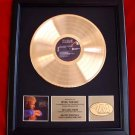 KEITH WHITLEY GOLD RECORD AWARD - FREE SHIPPING!
