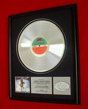 "AC/DC PLATINUM RECORD AWARD ""BLOW UP YOUR VIDEO"""