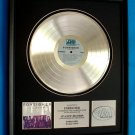 "FOREIGNER PLATINUM RECORD AWARD ""DOUBLE VISION"""