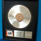 "LYNYRD SKYNYRD PLATINUM RECORD AWARD ""FIRST AND LAST"""