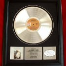 "THE CARPENTERS PLATINUM RECORD AWARD ""CLOSE TO YOU"""