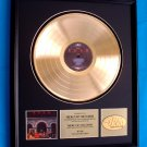 "RUSH GOLD RECORD AWARD ""MOVING PICTURES"""