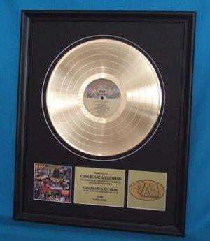 """KISS GOLD RECORD AWARD """"UNMASKED"""""""