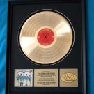 PAUL REVERE & THE RAIDERS GOLD RECORD AWARD
