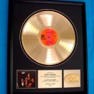"SONNY & CHER ""LIVE"" GOLD RECORD AWARD"