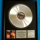 "ROLLING STONES PLATINUM RECORD AWARD ""BLACK AND BLUE"""