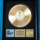 CHICAGO 18 GOLD RECORD AWARD