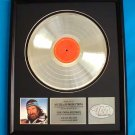 "WILLIE NELSON PLATINUM RECORD AWARD ""ALWAYS ON MY MIND"""