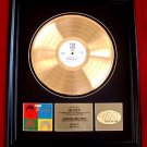 "QUEEN GOLD RECORD AWARD ""HOT SPACE"""