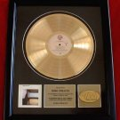 DIRE STRAITS GOLD RECORD AWARD
