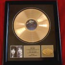 "HEART GOLD RECORD AWARD ""BEBE LE STRANGE"""