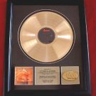 "CYNDI LAUPER GOLD RECORD AWARD "" TRUE COLORS"""