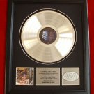 IRON MAIDEN PLATINUM RECORD AWARD