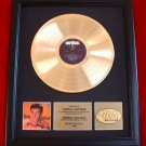 RICKY NELSON GOLD RECORD AWARD