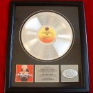 "MADONNA PLATINUM RECORD AWARD ""YOU CAN DANCE"" #P12"