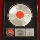 "JOURNEY PLATINUM RECORD AWARD  ""INFINITY"""