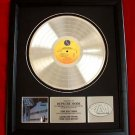 DEPECHE MODE PLATINUM RECORD AWARD &quot;SOME GREAT REWARD&quot;