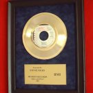 "STEVIE NICKS VINTAGE GOLD 45 RECORD AWARD ""BELLA DONNA"""