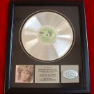 THE DOORS PLATINUM RECORD AWARD - JIM MORRISON