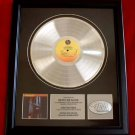 DEPECHE MODE PLATINUM RECORD AWARD - BLACK CELEBRATION
