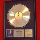 DEPECHE MODE GOLD RECORD AWARD - BLACK CELEBRATION