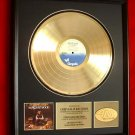 "JETHRO TULL GOLD RECORD AWARD ""SONGS OF THE WOOD"""""