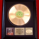 "JETHRO TULL GOLD RECORD AWARD ""BENEFIT"""