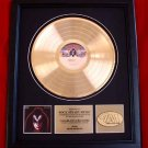 GENE SIMMONS (KISS) SOLO GOLD RECORD AWARD