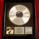 "MICHAEL JACKSON PLATINUM RECORD AWARD ""THRILLER"""