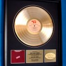"ERIC CLAPTON GOLD RECORD AWARD ""ANOTHER TICKET"""