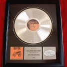 "AC/DC PLATINUM RECORD AWARD ""FOR THOSE ABOUT TO ROCK"""