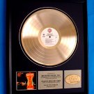 "HANK WILLIAMS JR. GOLD RECORD AWARD ""MONTANA CAFE"""