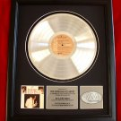"ELVIS PRESLEY PLATINUM RECORD AWARD ""LOVE LETTERS"""