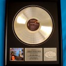 "ELVIS PRESLEY PLATINUM RECORD AWARD ""HOW GREAT THOU ART"""