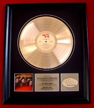 "THE BEE GEES GOLD RECORD AWARD ""SPIRITS HAVING FLOWN"""