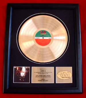 ABBA GOLD RECORD AWARD &quot;SUPER TROUPER&quot;