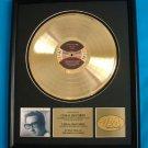 "BUDDY HOLLY GOLD RECORD AWARD ""THE BUDDY HOLLY STORY"""
