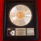 "ELVIS PRESLEY PLATINUM RECORD AWARD - ""PROMISE LAND"""