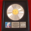 "THE ROLLING STONES PLATINUM RECORD AWARD ""UNDERCOVER"""