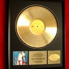 """MICK JAGGER GOLD RECORD AWARD """"UNDERCOVER"""" - THE ROLLING STONES"""