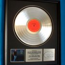 "WILLIE NELSON PLATINUM RECORD AWARD ""SOMEWHERE OVER THE RAINBOW"""