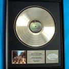 "THE BEATLES PLATINUM RECORD AWARD ""ABBEY ROAD"" - RARE!!"