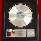 "GEORGE STRAIT PLATINUM RECORD AWARD ""RIGHT OR WRONG"""